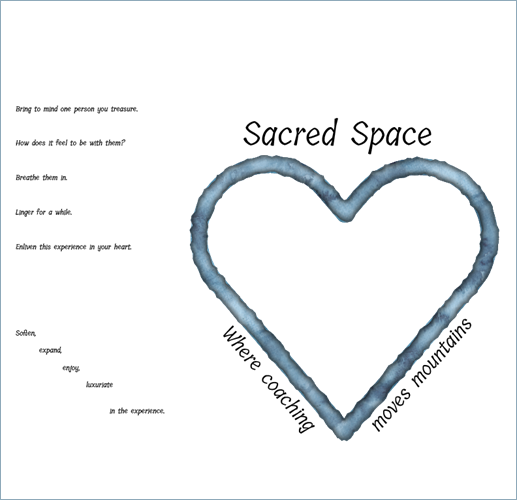 Sacred Space with Sharon Eakes and Nancy Smyth