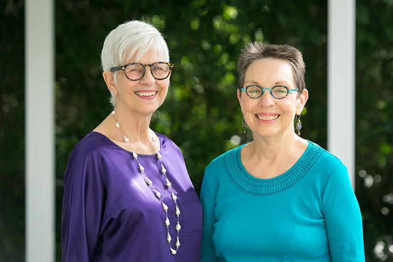Two Wise Women, Sharon Eakes and Nancy Smyth