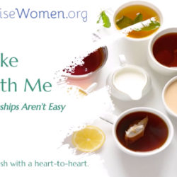 It's possible to focus on love, even when relationships aren't easy. Take Tea with Me Video